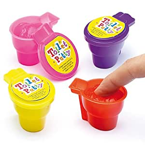 Amazon.com: Gooey, Squishy Toilet Putty, Party Bag Fillers for Boys & Girls, Children s Prizes ...