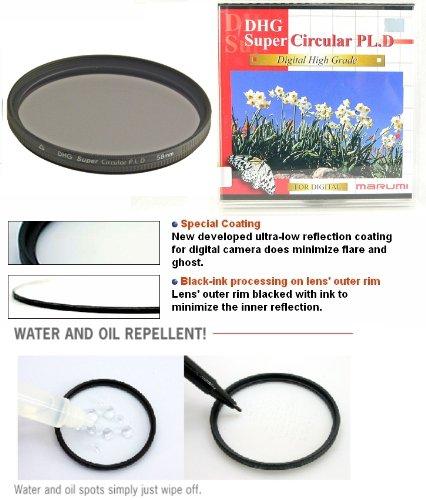 Marumi DHG Super Circular Polarizer CPL PL.D 58 58mm Filter Japan