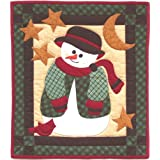 "Snowman Quilt Kit-13""X15""by Rachel's Of Greenfield"