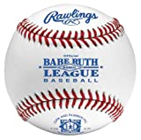Rawlings RBRO1-BLEM Babe Ruth League Leather Baseball (Blemished) (Sold in Dozens)