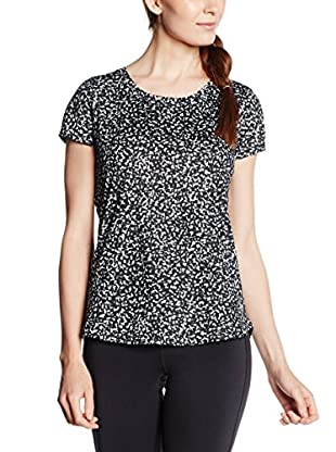 Under Armour Camiseta Técnica Fly (Negro / Blanco)