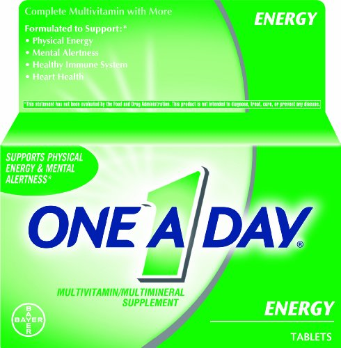 One-A-Day Energy Multivitamin 100 Tablets
