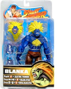 Picture of SOTA Street Fighter Blanka (Blue Variant) Action Figure (B002CNUAEY) (SOTA Action Figures)
