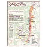 Carte des vins de La Côte-de-Nuits