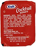 Kraft Cocktail Sauce, 0.75-Ounce Cups (Pack of 200)