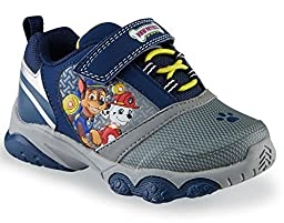 PAW PATROL MARSHALL & CHASE Light-Up Sneakers Shoes Boys & Toddlers Sizes New with Box
