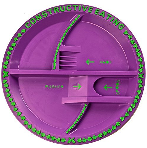 Constructive Eating Garden Fairy Plate, Placemat and Utensil Set