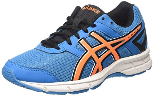 ASICS Gel-galaxy 8 Gs - Scarpe Running Unisex - Bambini, Blu (methyl Blue/hot Orange/black 4230), 32 1/2 EU