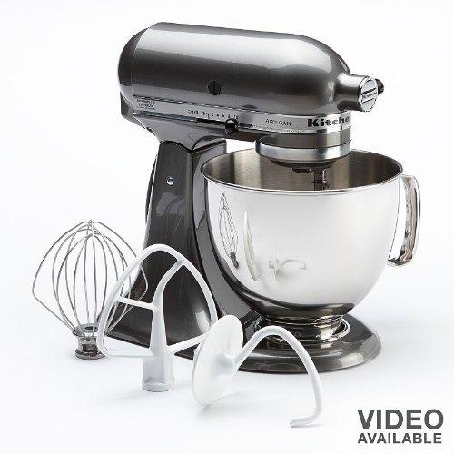 KitchenAid Artisan Series Stand Mixer with Pouring Shield, 5-Qt., Liquid Graphite