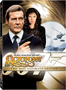 """Octopussy"" is the thirteenth James Bond movie and has Roger Moore as Agent 007."