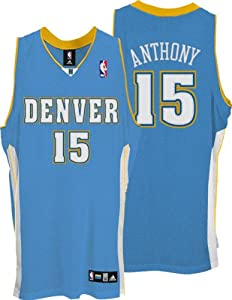 Carmelo Anthony Denver Nuggets Adidas NBA Authentic Jersey Size 48 by adidas