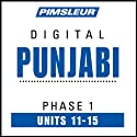 Punjabi Phase 1, Unit 11-15: Learn to Speak and Understand Punjabi with Pimsleur Language Programs  by Pimsleur