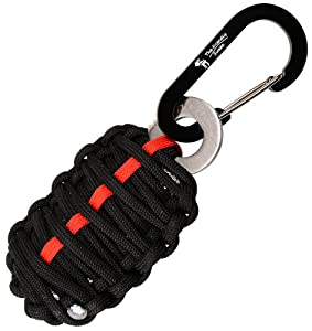 With Sharp Eye Knife - The Friendly Swede Carabiner