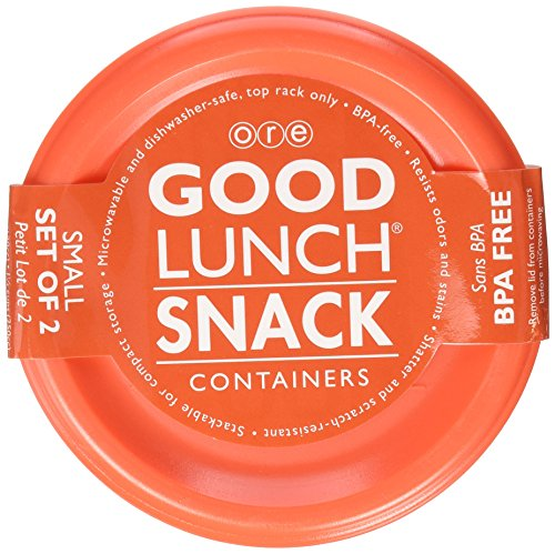 SugarBooger Good Lunch Small Snack Container, My Garden, 2 Count