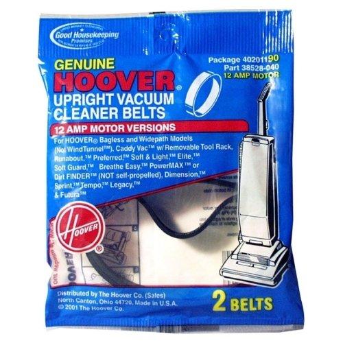 Hoover Style 190 Agitator Belt (2-Pack), 40201190