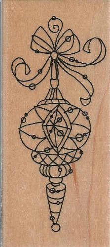 Wired Delight Wood Mounted Rubber Stamp (N122)