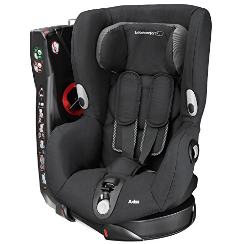 Bébé Confort Axiss - Silla de coche, grupo 1, color negro