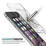 Amazon.co.jpiPhone6S ,iPhone6 ガラスフィルム,iPhone6S, iPhone6 強化ガラス,iphone6s iPhone6 フィルムさらさら【ELTD】iPhone6S iPhone6保護フィルム全面(0.3mm,硬度9H ) 3D Touch対応 2.5D ラウンドエッジ加工 気泡ゼロ 耐指紋 撥油性 99%高透過率 耐衝撃 飛散防止処理強化ガラス・ 反射低減タイプ 光沢表面仕様 画面保護&指紋防止シート - iPhone6S iPhone6 ガラスフィルム専用 液晶保護フィルム (iPhone6S /iPhone6(4.7インチ,クリア)