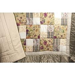 Trapunta estiva patchwork shopgogo for Trapunta matrimoniale estiva
