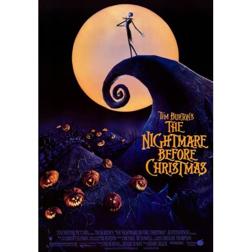 nightmare before christmas 3d reprint 27x41 poster nightmare before ...