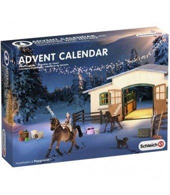 Pferde Weihnachtskalender.Schleich 97021 Pferde Weihnacht Adventskalender Farm Life