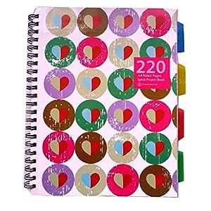 A4 Cahier de projet - Conception de Coeurs - 220 pages