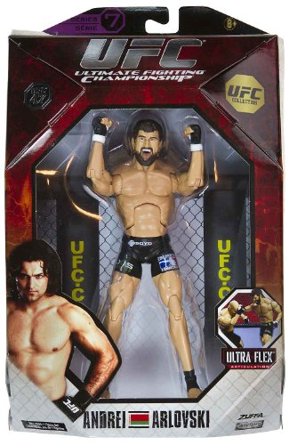 Buy Low Price Jakks Pacific Andrei Arlovski 7.25″ Figure: UFC Ultra-Flex Figure Collection Series #7 [UFC 47] (B004W0N1V4)