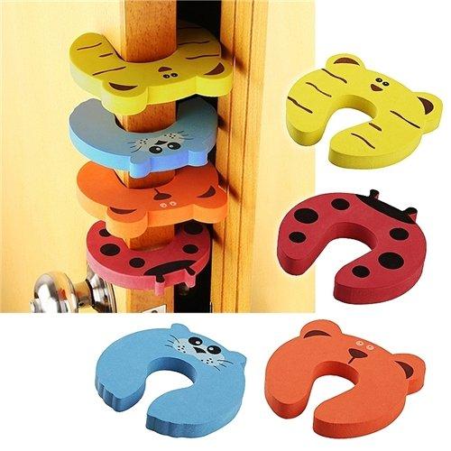 BFlowerYan-Door-Stop-Finger-Pinch-Guard-Mixed-Color-Baby-Product