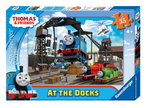 Thomas & Friends at The Docks Puzzle, 35-Piece