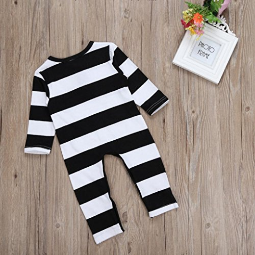 Creazy Infant Baby Boy Girl Cotton Romper Jumpsuit Bodysuit Clothes Outfit (6M)