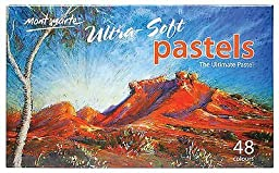 Mont Marte Ultra-Soft Pastels 48 Colours