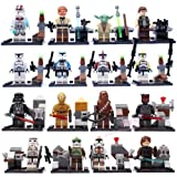 Shiv 16pcs/Set STAR WARS Collection Sith Jedi Knight Building Bricks Blocks Super Hero Figures Minifigures Toys Compatible With Lego OneSize, Multicol