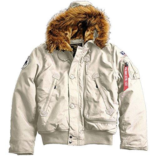 Alpha Industries – Polar SV Winterjacke offwhite günstig online kaufen