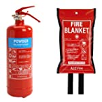 2kg Powder Fire Extinguisher & Fire B...