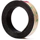 3M Dual Lock Reclosable Fastener TB4575 Low Profile Black, 1 in x 10 ft (1 Mated Strip/Bag)