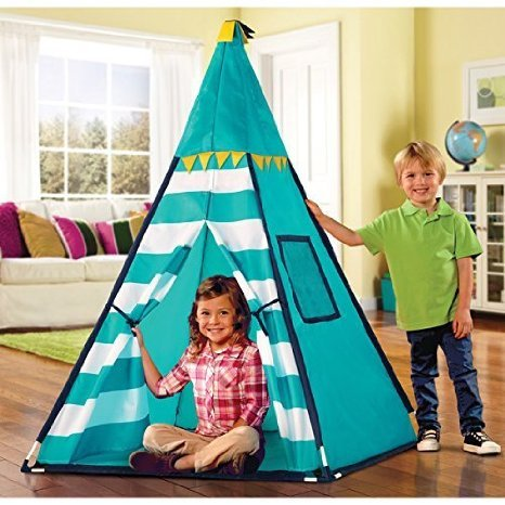 Discovery-Kids-Turquoise-Adventure-Teepee-Tent