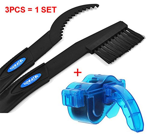 Roto - Bicycle Chain Cleaner Cycling Bike Machine Scrubber Washing Tool Kit Mountain Bycicle Chain Cleaning Tool Kits (Roto Brush Kit compare prices)