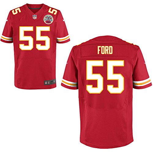 55 Dee Ford Jersey Mens American Football Jerseys Red Size 56 (Ford Jersey compare prices)
