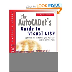 The AutoCADET's Guide to Visual LISP (Cadence Master's Series)