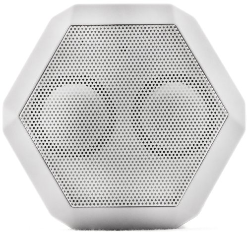 Boombotix Rex Wireless Ultraportable Weatherproof Speaker For Ipods Smartphones Tablets And Laptops (Arctic White)
