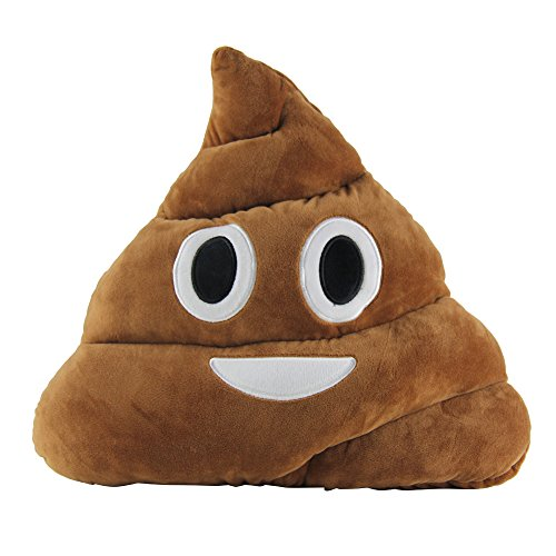 HOT SALE Cushion Emoticon Emoji Pillow Gift Cute Shits Poop Stuffed Toy Doll Christmas Present Funny Plush Bolster Cojines Pillow Cushion (Poop2) (Bulldog Presents compare prices)