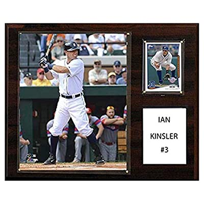 C and I Collectables MLB 15W x 12H in. Ian Kinsler Detroit Tigers Player Plaque