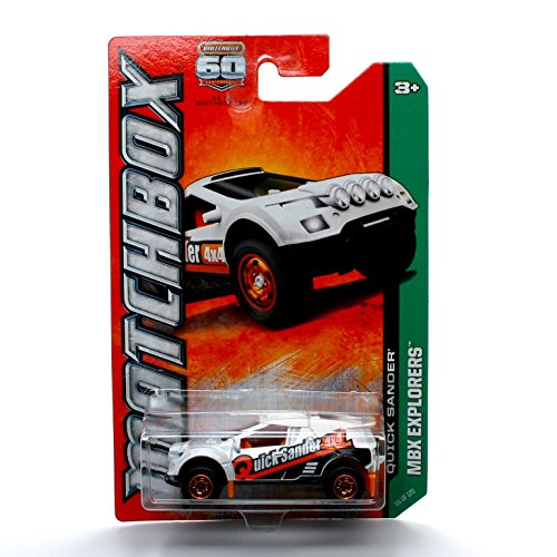 QUICK SANDER * MBX EXPLORERS * 60th Anniversary Matchbox 2013 Basic Die-Cast Vehicle (#98 of 120)