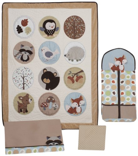 Carter's 4 Piece Crib Bedding Set, Forest Friend