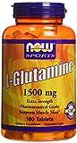 Now Foods L-Glutamine 1500 mg - 180 Tabs
