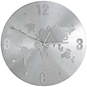 Kare 30091 Orologio da parete con cartina del mondo   cliente recensione Voto