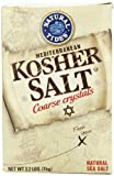 Natural Tides Mediterranean Kosher Salt, 2.2-Pounds (Pack of 6)