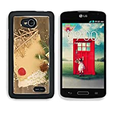 buy Msd Lg Optimus L70 Dual Aluminum Plate Bumper Snap Case Frame With Vintage Paper And Christmas Decorations On Wooden Background Image 24737166