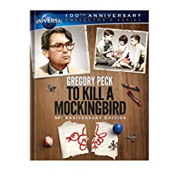 To Kill a Mockingbird 50th Anniversary Edition Collector's Series [Blu-ray Book + DVD + Digital Copy]