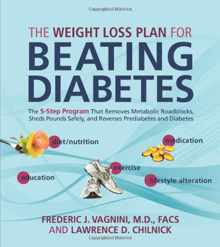 The Weight Loss Plan for Beating Diabetes: The 5-Step Program That Removes Metabolic Roadblocks, Sheds Pounds Safely, and Reverses Prediabetes and Diabetes